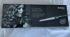 Babyliss Curling Wand Pro - black/silver and heat protective glove