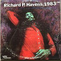 RICHARD P. HAVENS RICHIE HAVENS, 1983 LP ALBUM GOOD CONDITION
