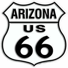 Embossed Signage - Route 66 Az Arizona Shield Sign