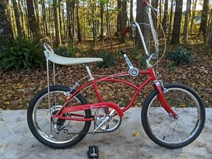 SCHWINN 1973 ORIGINAL RED 5 Speed STINGRAY BICYCLE * SURVIVOR * STING-RAY