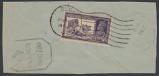 India used in Dubai, 1943, piece, with Censor DHC80, nice franking [ca501]