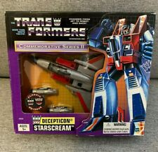 Transformers G1 Starscream Commemorative Series Reissue Figure 2002 Hasbro