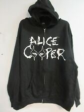NEW - ALICE COOPER BAND CONCERT / MUSIC ZIP UP HOODIE SWEATSHIRT 2XL / X X LARGE