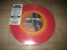 "PAUL WELLER Come on / Let´s go coloured 7""-Vinyl-Single  ( Oasis )"