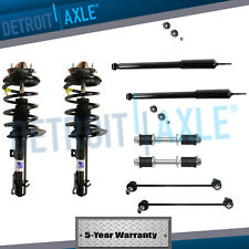 Front Struts & Rear Shocks & Sway Bar Links for 2006-2010 Ford FOCUS 2.0L 2.3L