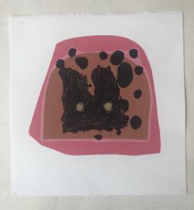 "MATTHEW HILTON b1948 Limited Ed SCREENPRINT ""Jugs"" - Pink ed 5/30 Curwen 1994"