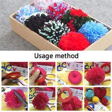 2setdiy Pompom Maker Fluff Ball Weaver Pom Poms Knitting Crafts Tool 5.5 3.5 2cm
