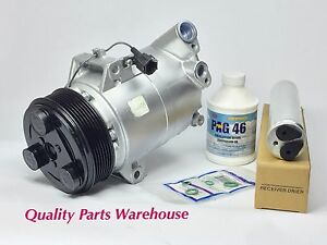 Remanufactured AC Compressor + new Drier for 2005-2012 Nissan pathfinder w/ wrty