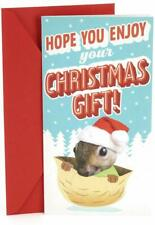 Hallmark Funny Pop Up Christmas Money or Gift Card Holder (Squirrel)