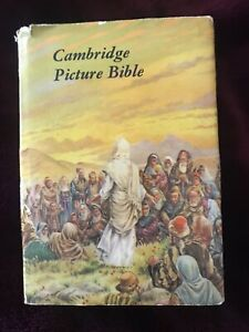 Cambridge Picture Bible. Beautifully Illustrated. Christmas Gift Used 9/