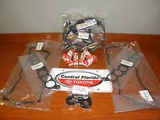 Toyota Tacoma 3.4L V6 Package W/ Spark Plugs Wires Cover Gasket Kit Genuin