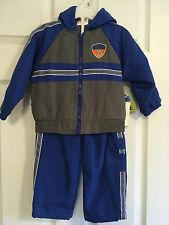 NWT Al & Ray athletic water-resistant 2-piece  suit, pants, hoodie. 18 MONTHS
