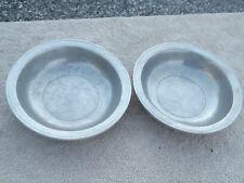 Wilton Armetale Gates House 2 Cereal Bowls