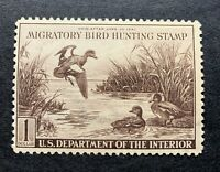 WTDstamps - #RW9 1942 - US Federal Duck Stamp - Regummed
