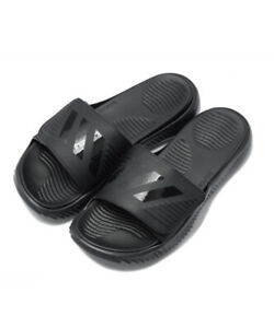 Adidas B41720 Men Swim Alphabounce BB Slippers Synthetic Sandals Black/black