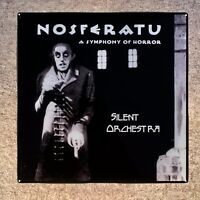 NASFERATU A Symphony of Horror Custom Ceramic Tile Coaster Silent Orchestra