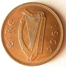 1964 Ireland 1/2 PENNY - Excellent Coin Ireland Bin #4