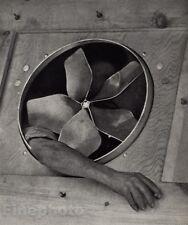 1937/72 Vintage 11x14 ARM WITH FAN Man Exhaust Fan Blade Photo By ANDRE KERTESZ