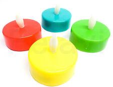4 Stück LED Velas De Té (€1,25 /X pieza XL 5,5cm Decoración Cambio color 4er Set