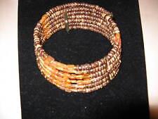 Francesca Romana 6 Strand Choker Necklace w/Bag
