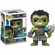 FUNKO POP VINYL MARVEL THOR RAGNAROK NO HELMET HULK #249 EXCLUSIVE