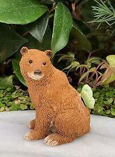 Miniature Dollhouse FAIRY GARDEN Figurine ~ Bear with Butterfly ~ NEW