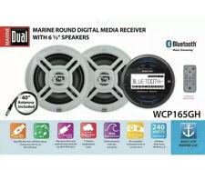 "Dual Electronics WCP165GH 2.5"" LCD Waterproof Marine Stereo Receiver & Speakers"