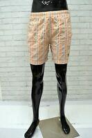 Costume JECKERSON Uomo Taglia L Da Mare Piscina Bagno Pantaloncino Shorts Righe