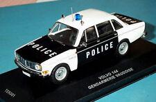 "wonderful Swiss policecar VOLVO 144 ""POLICE (Gendarmerie Vaudoise)"" 1967 - 1/43"