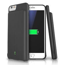 LoHi 4500mAh iPhone 8 / 7 / 6s /6 4500mAh Battery Case -Black/Blue