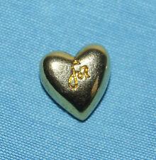 broche pin's SONIA RYKIEL petit coeur en métal doré