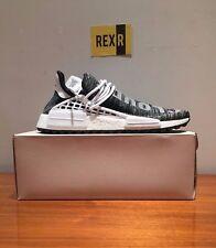 Adidas Pharrell Human HU NMD Trail Race Oreo Nero Bianco AC7359 UK 7 US 7.5