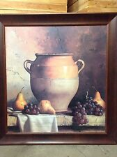 Amanti Art 'Confit Jar with Bowl' by Loran Speck Framed Graphic Art