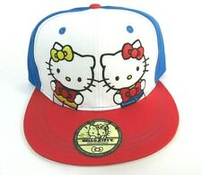 New Hello Kitty Hat Ball Cap Strap Back 40th Anniversary Sport Adjustable Blue