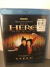 Hero (Blu-ray Disc, 2009) Jet Li Zhang Yimou Brand New Sealed!