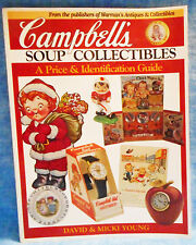 Campbell's Soup Collectibles Price & ID Book By Young B1