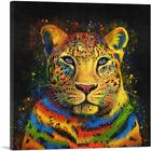 ARTCANVAS Leopard Africa Cat Canvas Art Print