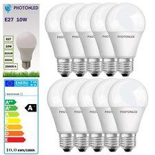 10 x Ampoule LED E27 10W 810Lumens