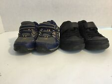 SURPRIZE by STRIDE RITE Toddler Boy Black Darrell  and Blue Davon  size 6.
