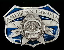 AMERICAN LAWMAN BELT BUCKLE VERY DETAILED BUCKLES NEW!
