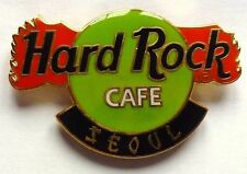 Hard Rock Cafe Pin Badge Dragon Claw Logo Seoul