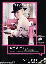 Publicité advertising 2015 Parfum Very Irrésistible Givenchy Amanda Seyfried