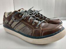 Skechers USA Men's Palen Senden Walking Shoe US size 11 Brown/Gray VERY NICE