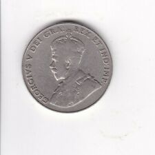 1929 CANADA KING GEORGE V NICKEL COIN - COMB. SHIP