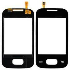 VETRO+TOUCH SCREEN per SAMSUNG GALAXY POCKET GT S5300 LCD DISPLAY NERO NUOVO