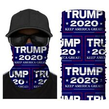 Multifunctional Headwear Mask Neck Gaiter Bandanas, Trump 2020