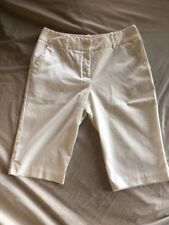Women's Worthington Petite Stretch White Size 4P Shorts