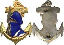 Bataillon Mobile 10, NIGER, nomade, argenté, 2 anneaux, D.Ber.Dép. (4495)