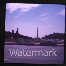 1960s  amateur Ektachrome Photo slide Washington DC cars automobile #3