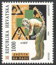 Croatia 1994 ILO/Workers/Safety/People/Warning Signs/Unions/Animation 1v n40771